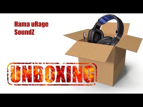 87778f5386e Hama uRage SoundZ Unboxing - YouTube