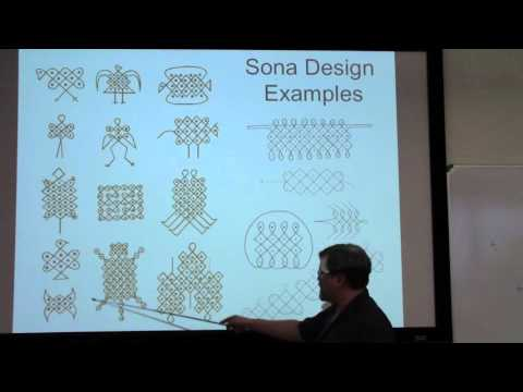 Ethnomathematics: Sona Designs from Africa