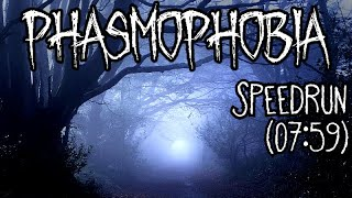 Phasmophobia - Professional Difficulty Speedrun (07:59)