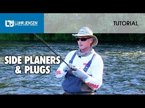 How To Fish A Side Planer With Plugs: Luhr Jensen® TECH TIPS