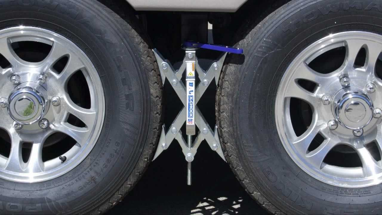 Stop the Rock & Bounce! Travel trailer & 5th wheel stabilizer system