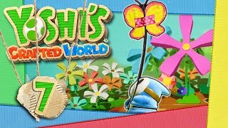 YOSHI'S CRAFTED WORLD 📦 #7: Zerhackte Büffel und Spielen auf der Blumenwippwiese