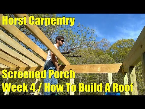 Screened Porch | Week 4