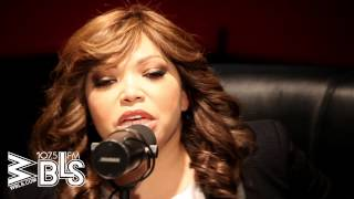 "Tisha Campbell & Full Force talk ""All Cried Out"" and House Party sequel at the WBLS 107.5 studios"
