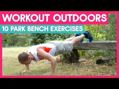 10 Park Bench Exercises