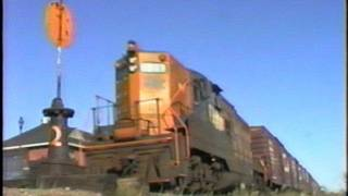 GP9 is screamin as it switches cars in Cochrane. 9/18/1996