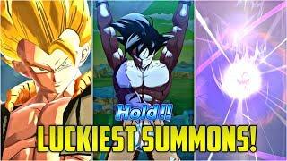 LUCKIEST DRAGON BALL LEGENDS SUMMONS! (Part 5) | Dragon Ball Legends List