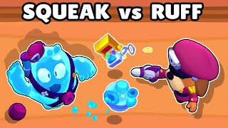 SQUEAK vs COLONEL RUFFS | 1vs1 | NEW BRAWLER | BRAWL STARS