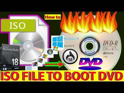 HOW TO MAKE ISO Image To BOOTABLE CD/DVD 2017 Ashampoo Burning Studio 8