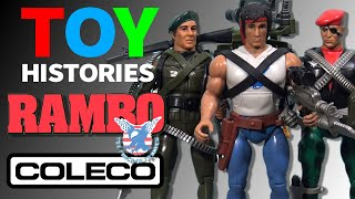 History of Rambo: The Force of Freedom Toys - Vintage Coleco Action Figure Review