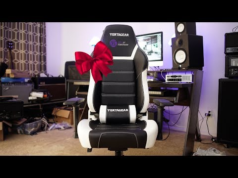 The Best Gaming Chair For Big Guys! Vertagear PL6000