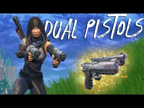 NEW DUAL PISTOLS AND PUMP META! (Fortnite Battle Royale) thumbnail