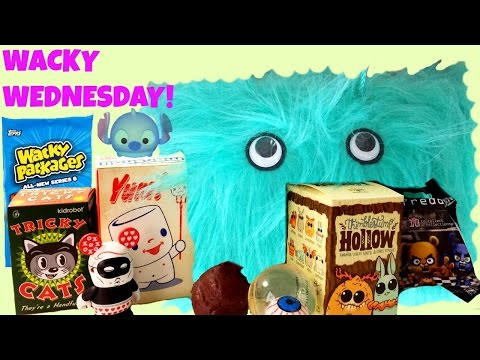 Wacky BLIND BAG Wednesday! Blind Boxes Tsum Tsums Marshall Kidrobot