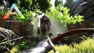 ARK: Survival Evolved - CARNO HUNTING & DOLPHIN TAMING! (ARK: Survival Evolved Gameplay)