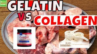 Do You Know The Difference Between Collagen VS Gelatin