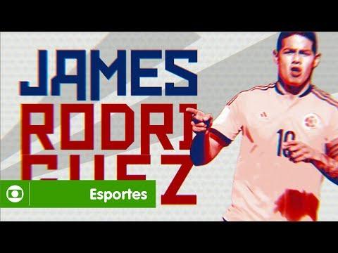 Globo Na Copa: James Rodríguez é um dos craques que você vai ver em junho