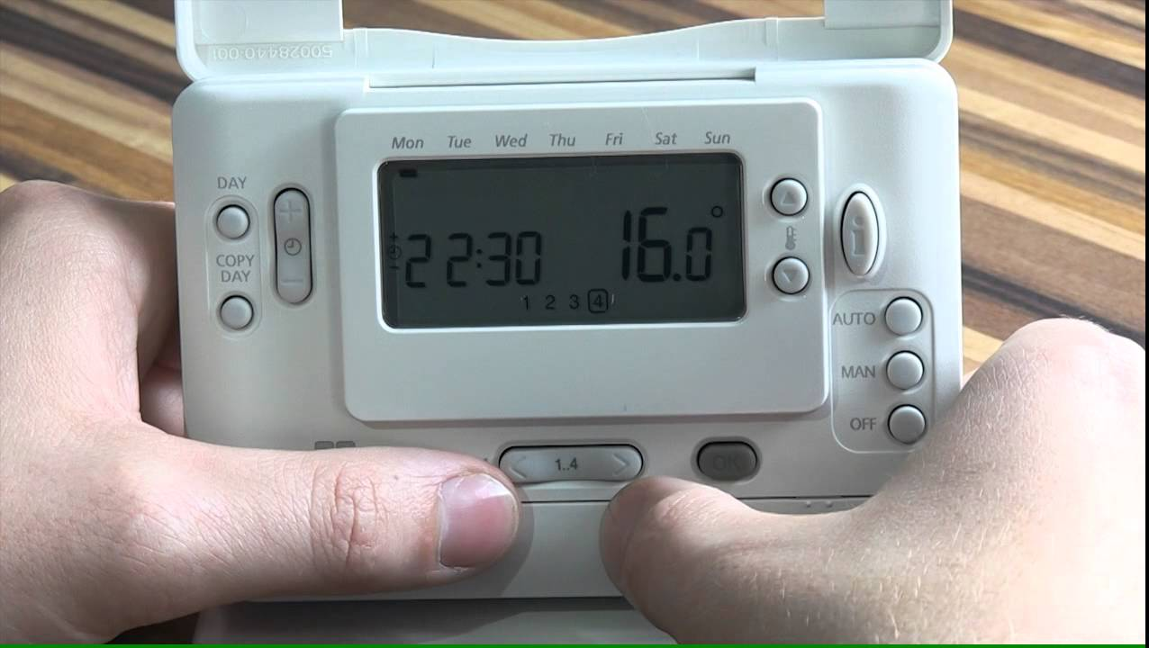 Center thermostat - YouTube