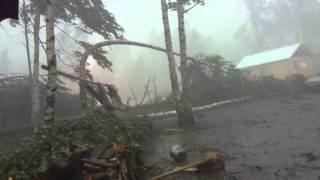 Ураган в Карелии