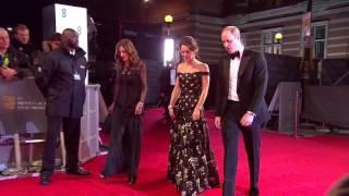 BAFTA 2017: Duke and Duchess of Cambridge - Red Carpet Arrival
