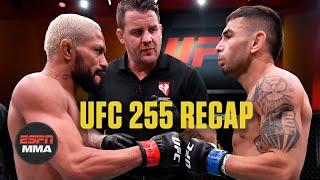 UFC 255 Recap: Figueiredo Submits Perez, Shevchenko Wins By Decision | ESPN MMA