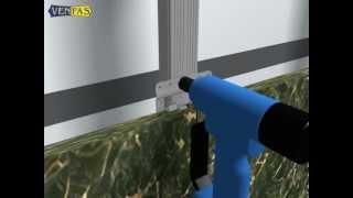 видео Кляммер угловой из нержавейки