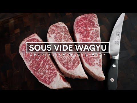 Sous Vide WAGYU Marble Score 7 - Australian Wagyu Strip Loin