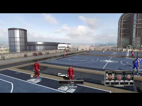 NBA MYPARK TRYING TO BEAT PAPA SMURF