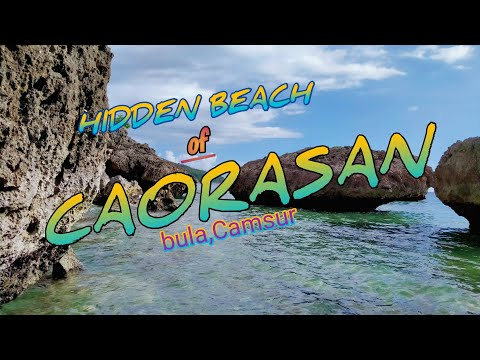 THE HIDDEN BEACH OF CAORASAN BULA CAMSUR TSRC RIDE OUT