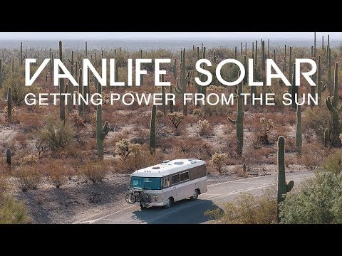 Vanlife Solar Electrical Setup //  Panels, MPPT, Batteries & AC Inverter// The Van Project