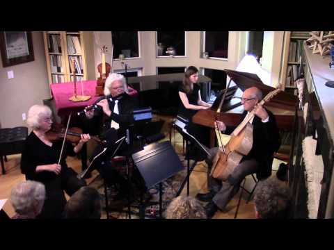 Georg Philipp Telemann - Quartet in E minor from Tafelmusik III TWV 43:e2 mp3