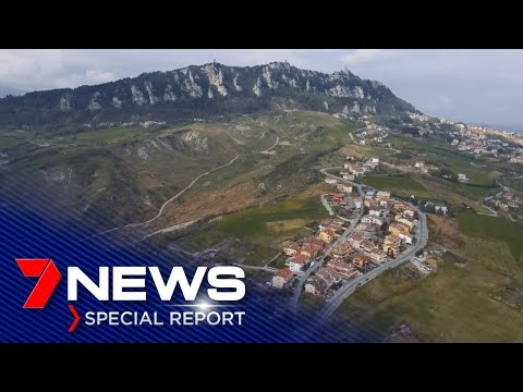 The tiny nation of San Marino is battling for survival | 7NEWS