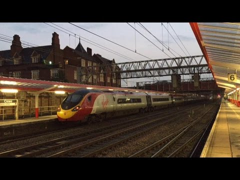 Train At: Crewe 01/10/16 WCML + 86 259 Charter