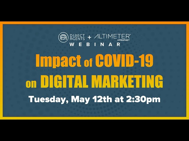 Direct Agents + Altimeter: Digital Marketing Landscape Webinar