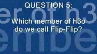 h3o Trivia Game 2