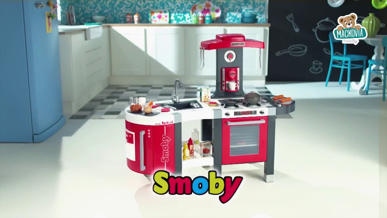 Smoby Tefal French Touch Bubble Küche Mit Wasserfunktion Detská Kuchynka Tefal French Touch - Youtube