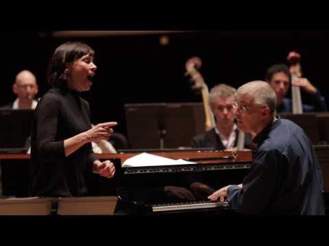 Mozart -  Ch'io mi scordi di te - Sandrine Piau / Christian Zacharias (répétition)