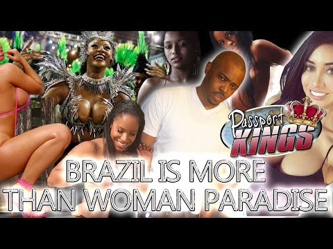 Black Women in Brazil are not the only reason to go overseas: Passport Kings Travel Video