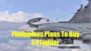 Philippines plans to buy 24 fighter