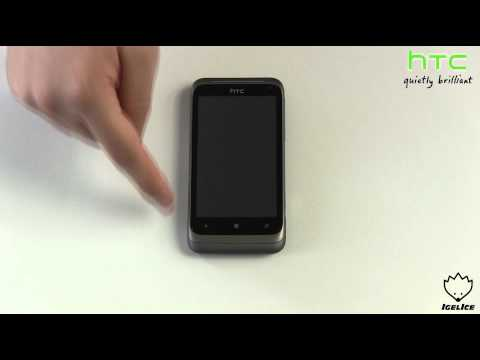 HTC Radar Handy Smartphone Unboxing German & Kurzreview