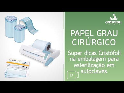 Papel Grau Cirúrgico Super Dicas na Embalagem para Esterilização em Autoclaves