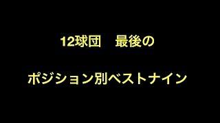12球団最後の ポジション別ベストナイン 広島 投手 2016年 野村祐輔 捕...