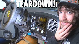 TEARING DOWN For Custom Dashboard Build? EXO's New Car Audio Subwoofer Sound System Install 2018