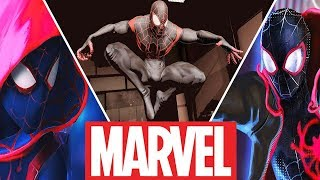 Spider-Man(Miles Morales) Evolution in Cartoons and Games (2018) Carnage and Venom vs Miles Morales