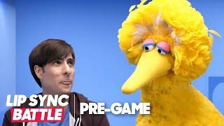 Getting to Know Big Bird w/ Jason Schwartzman | Lip Sync Battle Pregame