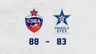 Maç Özeti | CSKA Moskova – Anadolu Efes