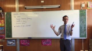 Quadratic Equations (2 of : Example of completing the square)