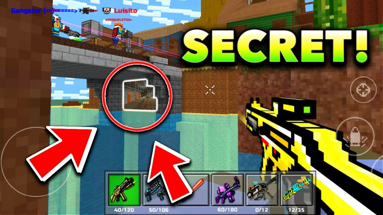pixel gun 3d how to get your stuff back