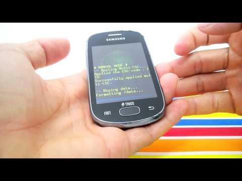 Como Formatar Samsung Galaxy STAR TRIOS S5283 e Outros    Hard Reset, Desbloquear. G-Tech
