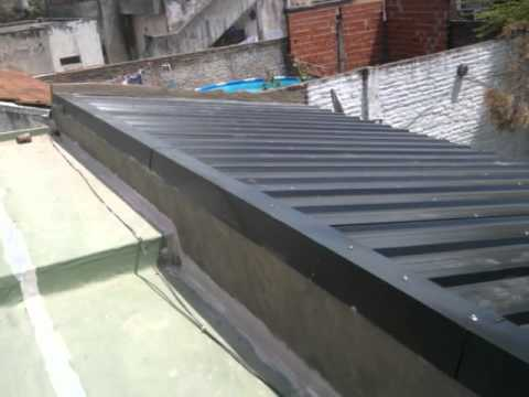 Colocacion de techos zona oeste youtube for Materiales para techos de madera