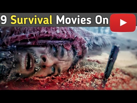 Top 9 Hollywood Survival Movies available on YouTube |Hindi|